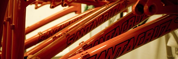 Santa Cruz Bicycles factory tour