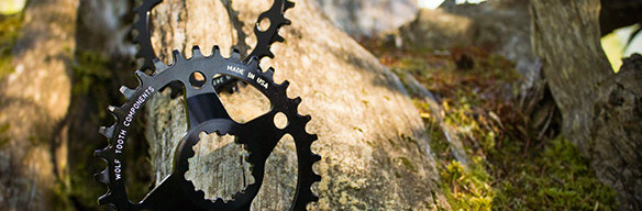 Wolf Tooth Components Drop-Stop chainrings