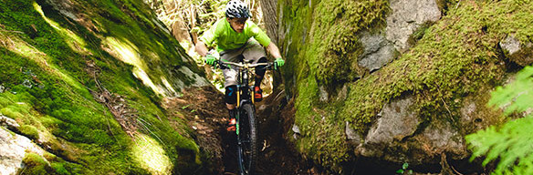 Davis English, Stage 1 of the Pemberton Sea to Sky Enduro
