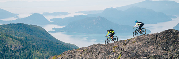 Riding high above the Howe Sound